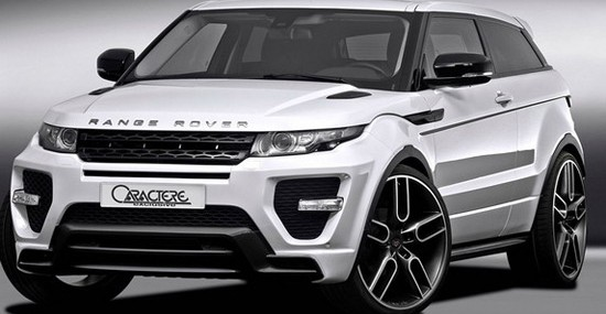 Caractere Range Rover Evoque Body Kit