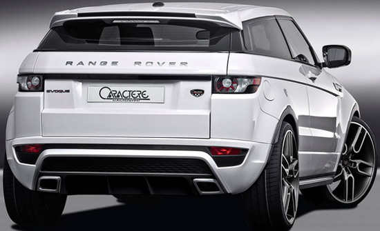 caractere range rover evoque extravaganzi. Black Bedroom Furniture Sets. Home Design Ideas