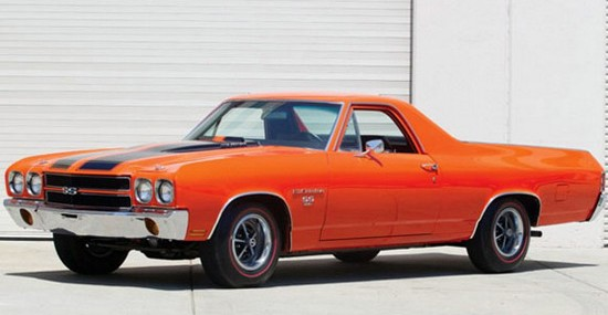 Chevrolet El Camino SS 396 Owned By Steve McQueen On Sale