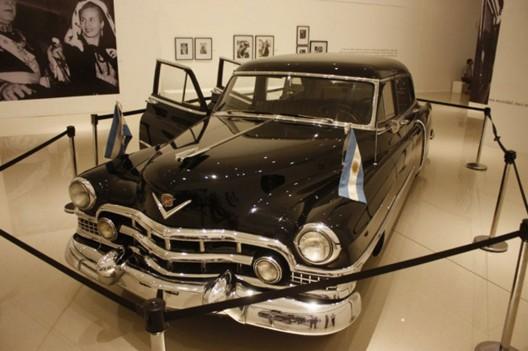Eva Peron's 1951 Cadillac Limousine