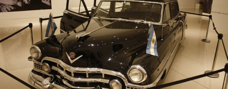 Official Cadillac of Eva Peron and Juan Peron at Auction