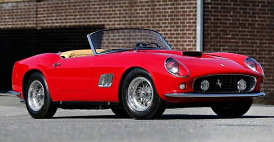 Ferrari 250 GT SWB California Spyder At 2014 Gooding & Company's Pebble Beach