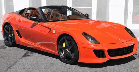 Ferrari 599 SA Aperta On Sale For $1Million
