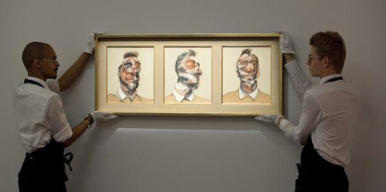 Francis Bacon's Triptych of His Lover Reached £26.7 Million at Auction