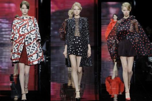 Giorgio Armani Prive Haute Couture Fall/Winter 2014 Collection