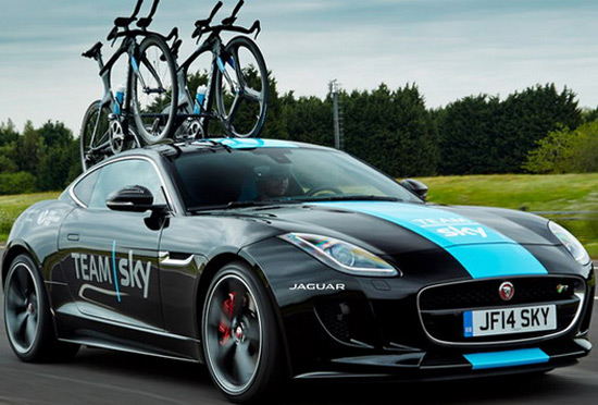 Jaguar F-Type Coupe Tour de France Special Edition