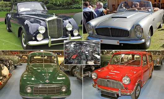 the largest private collection of classic British cars in the world