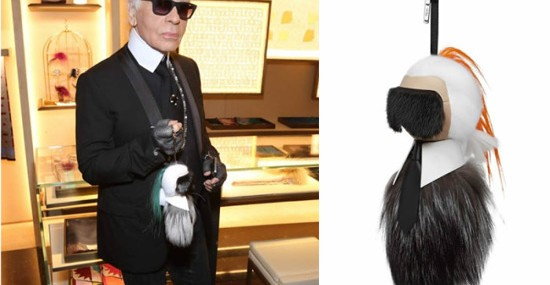 Karl Lagerfeld Designed Fendi Fur Buggies That Look Just LikeHim