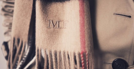 Home >Fashion >Get Your Own Monogrammed Burberry Scarf now!GET YOUR OWN MONOGRAMMED BURBERRY SCARF NOW!