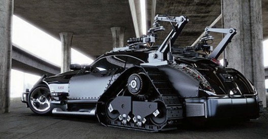 New Car For Mad Max Movie Serial