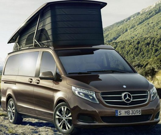 mercedes v class marco polo edition extravaganzi. Black Bedroom Furniture Sets. Home Design Ideas
