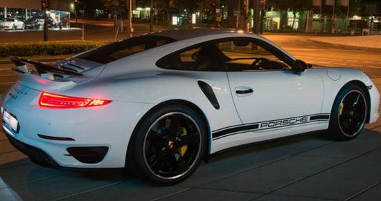 Porsche 911 Turbo S Exclusive GB Edition For British Market