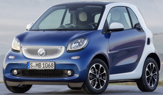 New Smart ForTwo And Smart ForFour