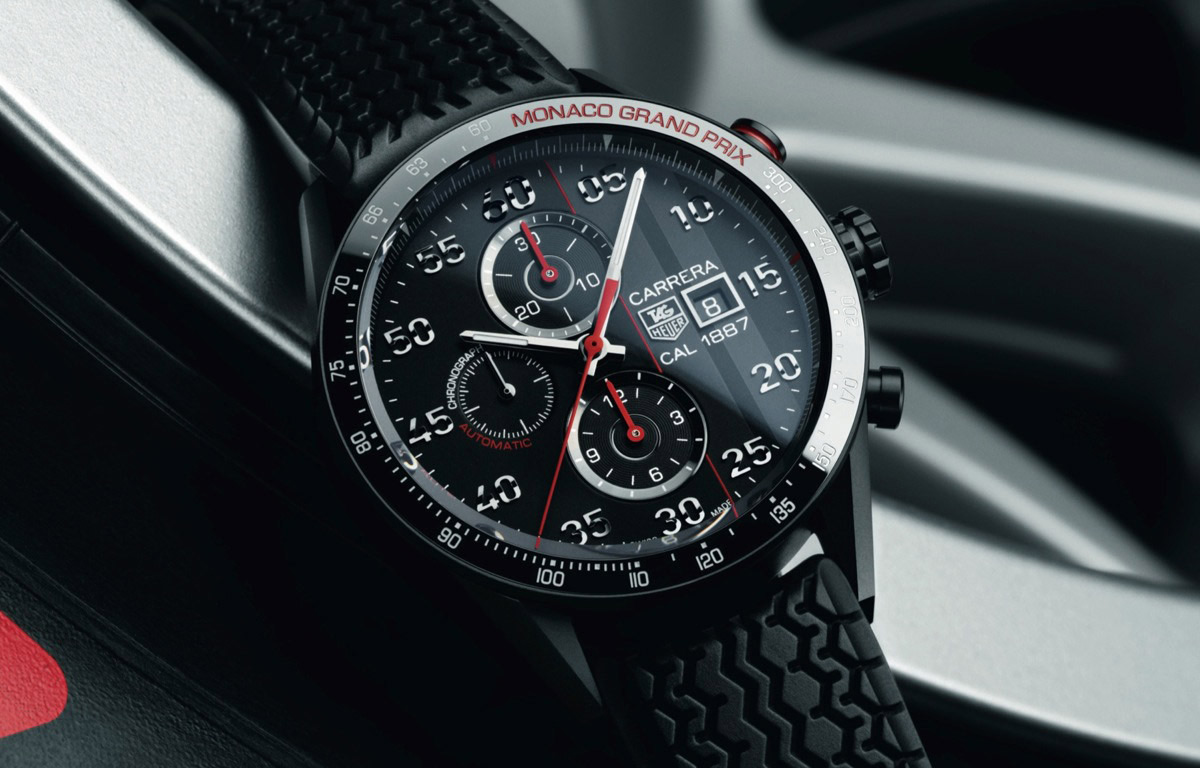 tag heuer carrera monaco grand prix limited edition watch extravaganzi. Black Bedroom Furniture Sets. Home Design Ideas