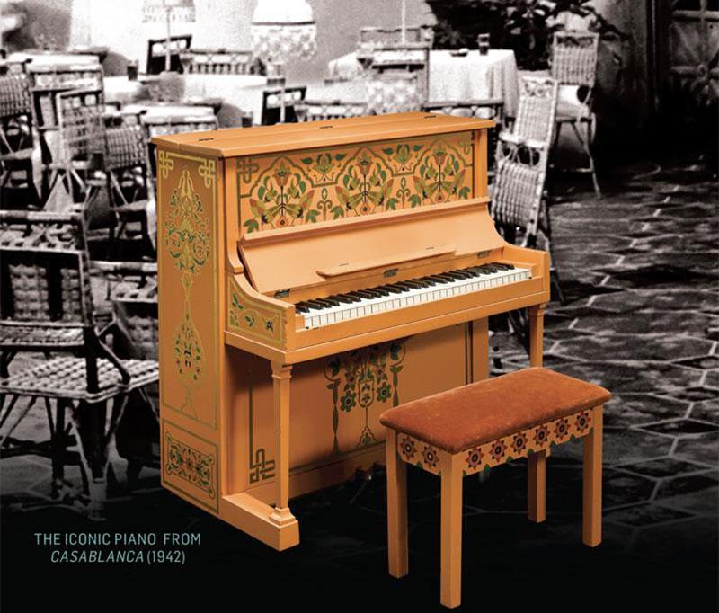 Casablanca piano goes under the hammer extravaganzi for Casa piano diviso