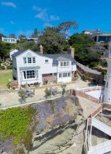 Historically-significant Three Arch Bay Estate on Sale