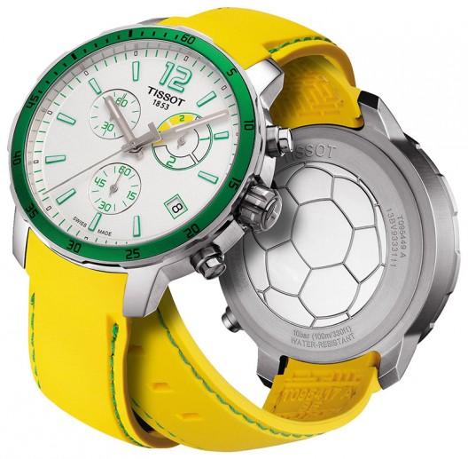Tissot Chrono Quickster Football Watch