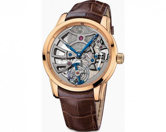 ULYSSE NARDIN UNVEILS EXCLUSIVE SKELETON TOURBILLON MANUFACTURE TIMEPIECE