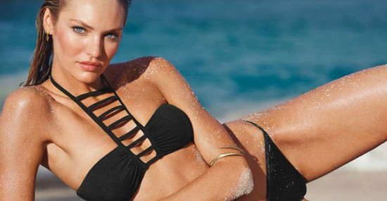 Victoria's Secret presented a very seductive and sensual line of swimwear for 2014