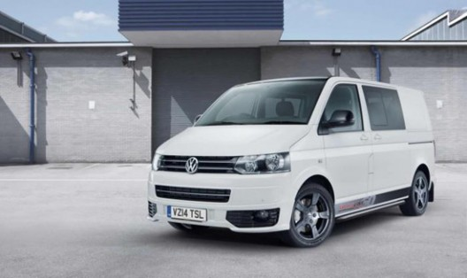 Volkswagen has promoted Transporter Sportline 60 special edition to mark the 60th anniversary