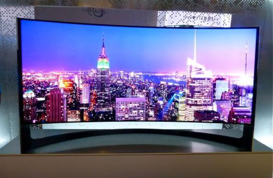 samsung unveils world s largest curved screen uhdtv extravaganzi