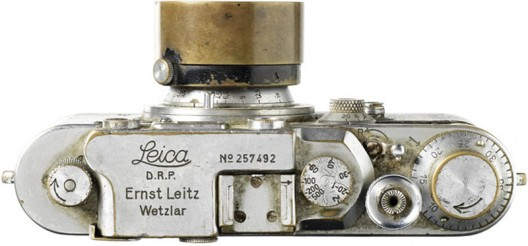 Iconic 'Flag Over Reichstag' Leica III camera to be auctioned at Bonhams