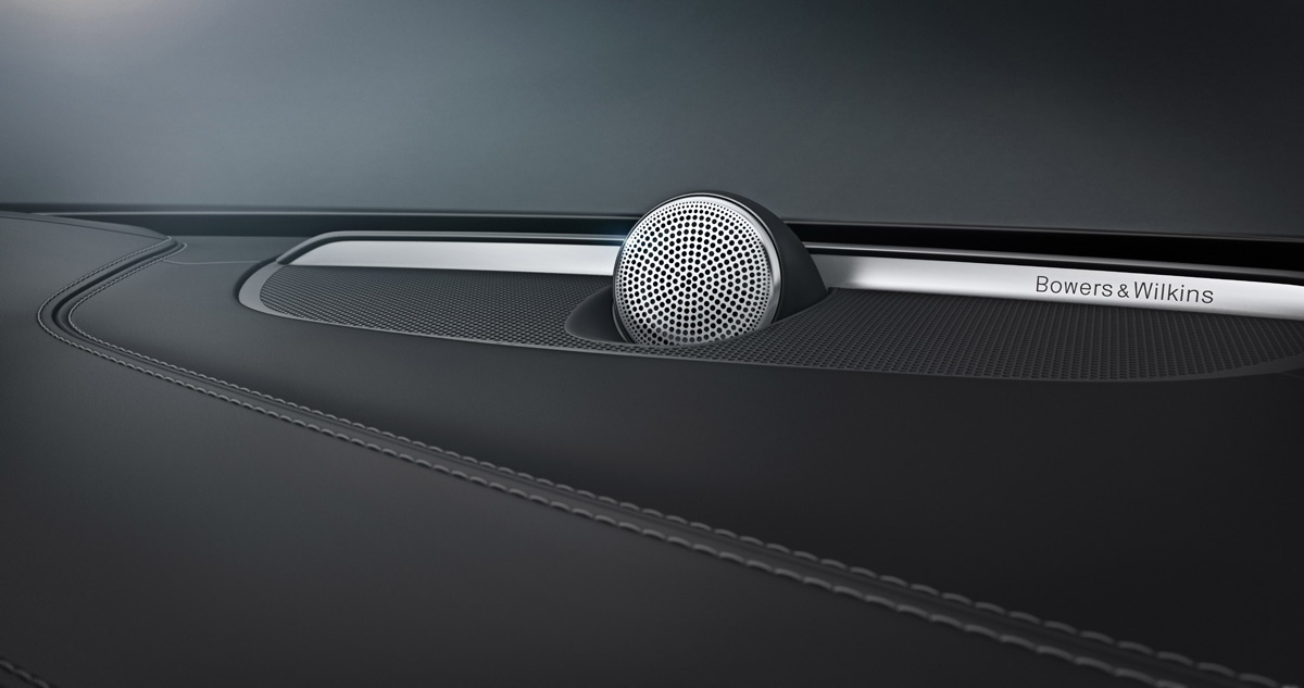 New 2015 Volvo XC90 Audio System by Bowers & Wilkins