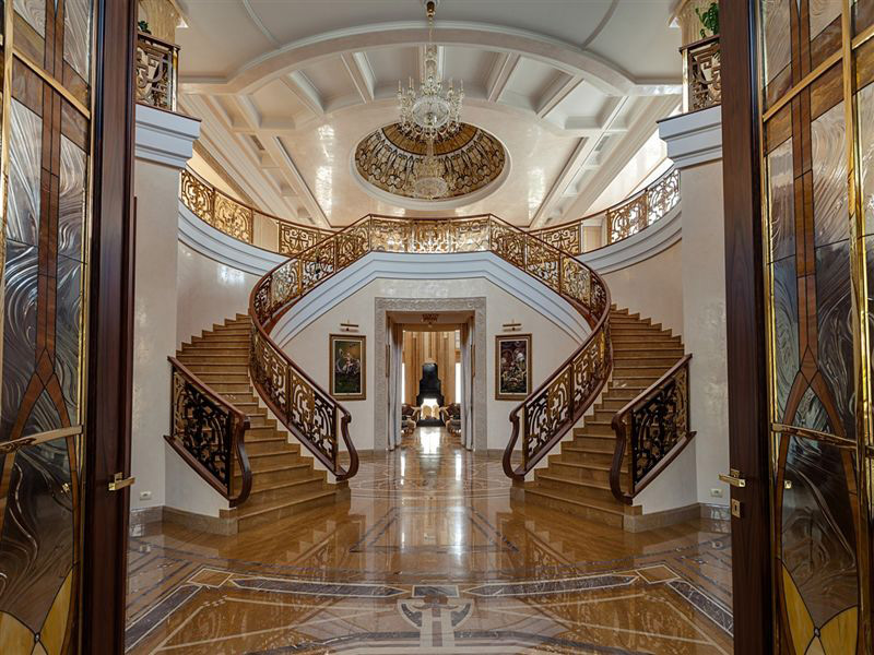 80 Million 27000 Square Foot Mega Mansion In Russia