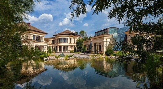$80 Million 27,000 Square Foot Mega Mansion in Russia