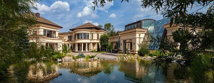 $80 Million 27,000 Square Foot Mega Mansion in Russia