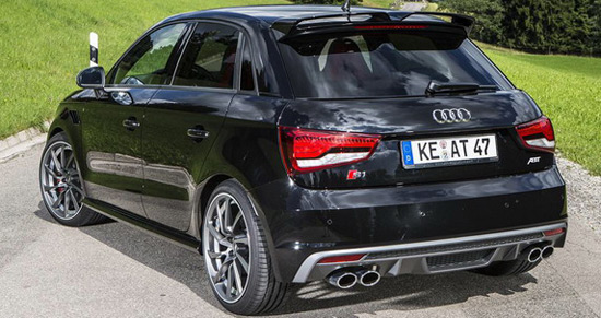abt audi s1 sportback with 310hp extravaganzi. Black Bedroom Furniture Sets. Home Design Ideas