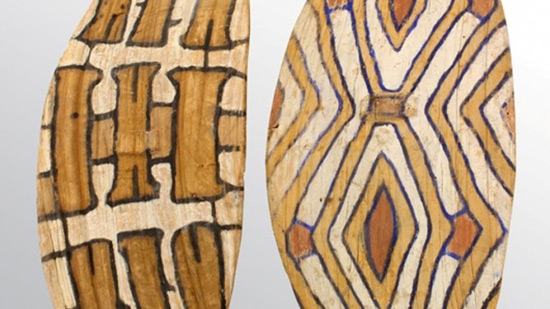 Aboriginal shields shoot to $23,000 each at Clars auction gallery