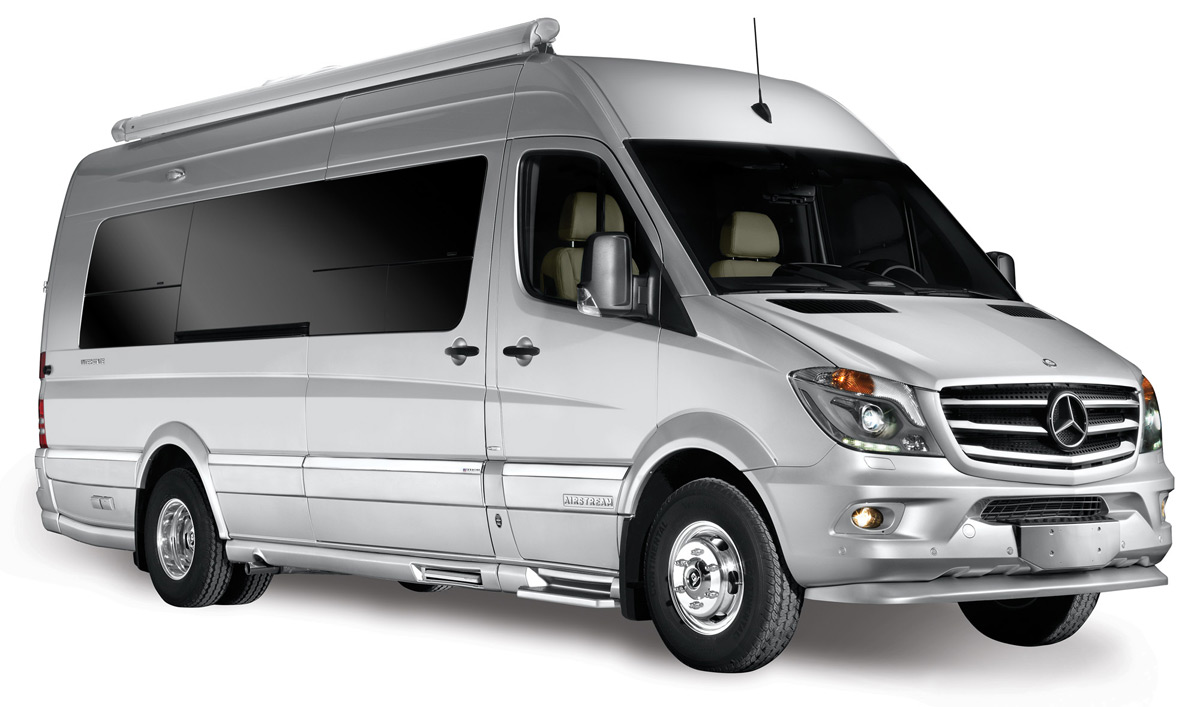 Airstream grand tour motorhome autos post for Mercedes benz touring coach