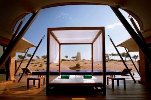 Banyan Tree Al Wadi Resort Amidst Miles of Rolling Sand Dunes