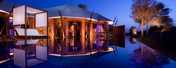 Banyan Tree Al Wadi Resort Amidst Miles of Rolling Sand Dunes