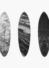 Alexander Wang & Haydenshapes Teamed Up for Marble Surfboards