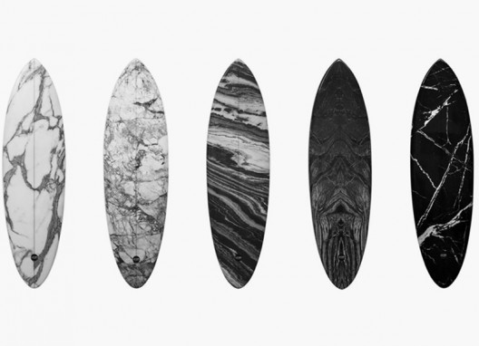 Alexander Wang & Haydenshapes Teamed Up for Marble Surfboards