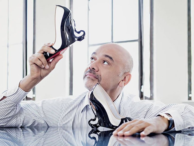 Angelina Jolie's Maleficent-inspired Christian Louboutin Shoes