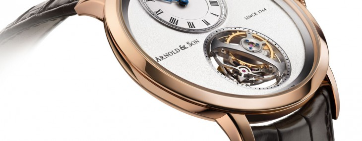 Arnold & Son extends its Instrument Collection by presenting two new versions of its UTTE tourbillon