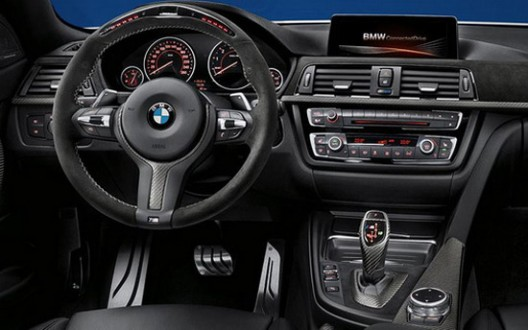 M Performance Package is also available in the BMW 4 Series Convertible