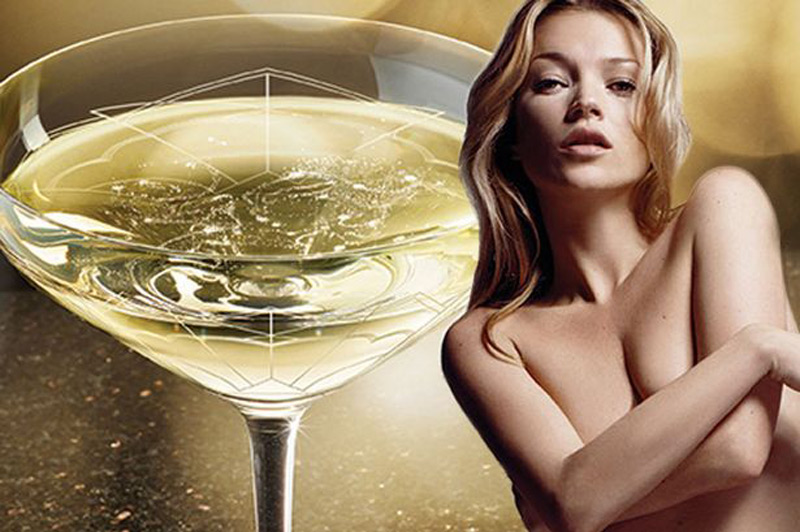 Champagne Glass Shaped Like Kate Moss' Breast?
