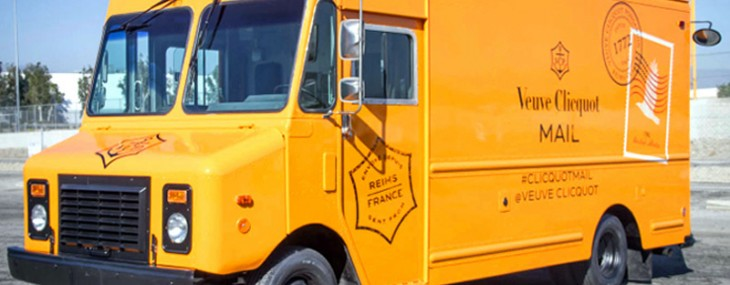 Veuve Clicquot Mail Truck Tours The US