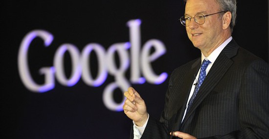 Sit Down to Coffee with Former Google CEO Eric Schmidt
