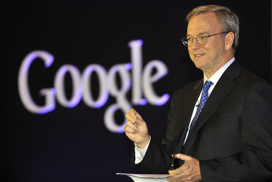 Google's head honcho Eric Schmidt auctions off coffee date for charity