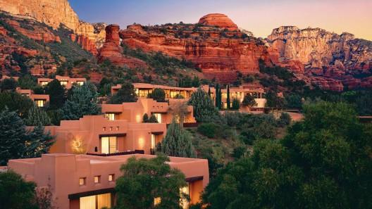 Sedona's Enchantment Resort Amid the Red-rock Beauty of Boynton Canyon