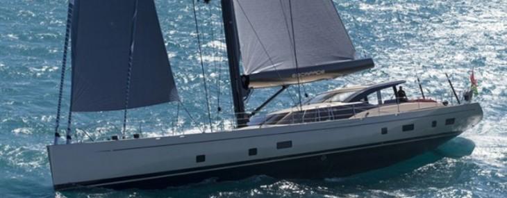 Escapade - Fitzroy's 37.5m Sailing Superyacht