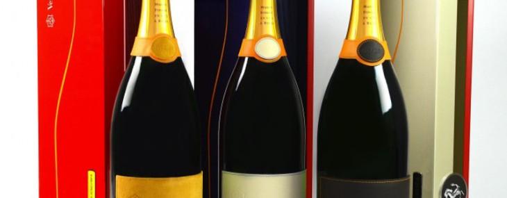 Ferrari and Veuve Clicquot Maranello Champagne Set