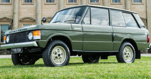 The First Production Range Rover Is On Sale At Auction