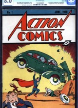 First Superman Comic Book Sold for Record $3,2 Million