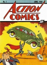 First Superman Comic Book up for Auction on Ebay